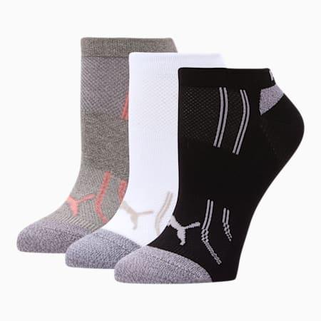 Modal Women's Low Cut Socks [3 Pack], MEDIUM GREY, small